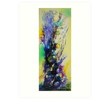 Totem , featured in AbstractSurreal Art, BestOf Redbubble  Art Print