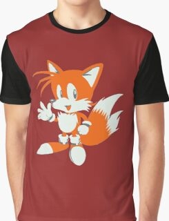 Minimalist Tails 3 Graphic T-Shirt