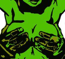 She Hulk - Vienna Graffiti Sticker