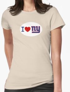 I LOVE NY (Giants) Euro Sticker T-Shirt