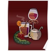 Holiday Drinks Poster