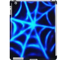 neon spider web iPad Case/Skin