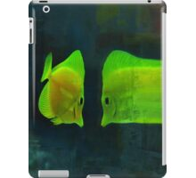 Fish funhouse iPad Case/Skin