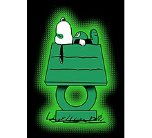 Snoopy Lantern Photographic Print
