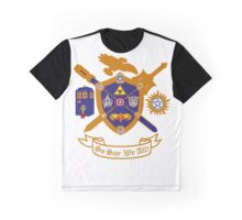Geek Crest 2.0 without background Graphic T-Shirt