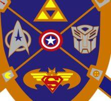 Geek Crest 2.0 without background Sticker