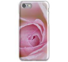 Macro of a rose iPhone Case/Skin