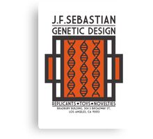 JF SEBASTIAN GENETIC DESIGN - Blade Runner Canvas Print
