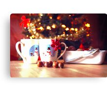 Christmas commercial  Canvas Print