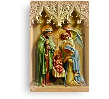 Away In A Manger... Canvas Print