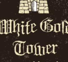 Talen Jei's White Gold Tower Mead Sticker