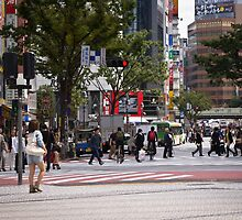 Shibuya Crossing by Alexandra Vaughan
