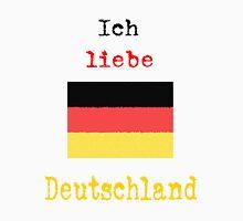I Love Germany Vintage Style Unisex T-Shirt