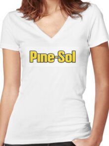 Pine-Sol Women's Fitted V-Neck T-Shirt