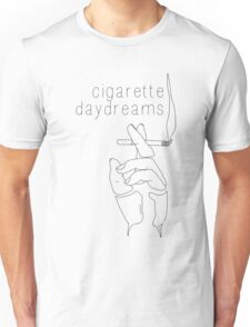 Cigarette Daydreams - In Black & White Unisex T-Shirt
