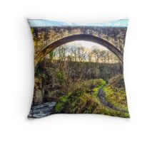 The Causey Arch Throw Pillow