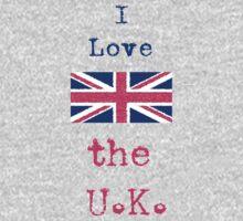I Love The U.K. by wlartdesigns