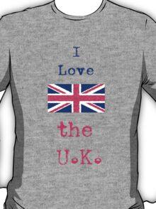I Love The U.K. T-Shirt