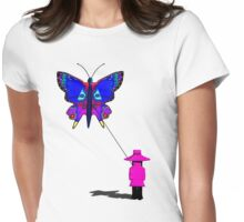 Girl with butterfly kite T-Shirt