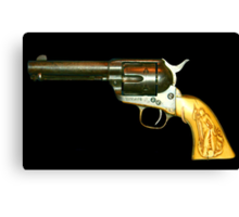 In the Beginning.... 45 Colt Canvas Print