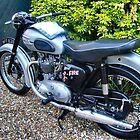 TRIUMPH TIGER -T 100. UK. by ronsaunders47