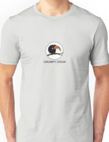 ugly crow bird on a branch Unisex T-Shirt
