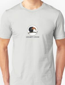 ugly crow bird on a branch T-Shirt