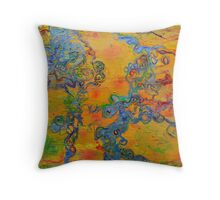 Ion Channel Throw Pillow