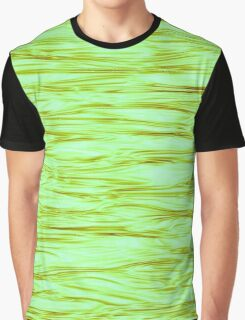 Fractal Noise Lime Green Swirl Graphic T-Shirt