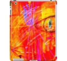 """Red Tulip Lady"" iPad Case/Skin"