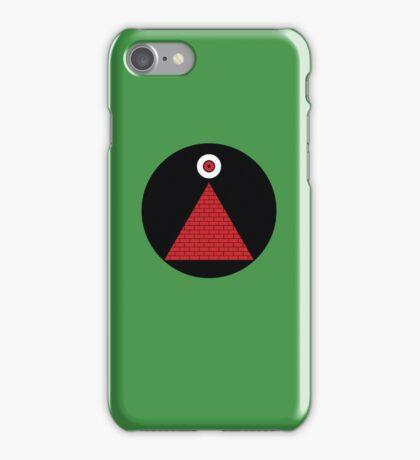 Mars Attacks flag iPhone Case/Skin