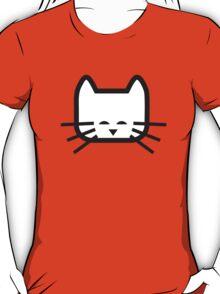Square Happy Cat T-Shirt
