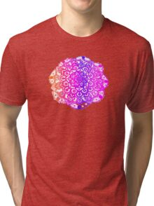 Watercolour Mandala  Tri-blend T-Shirt