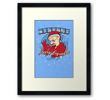 Merry CrysMeth Framed Print