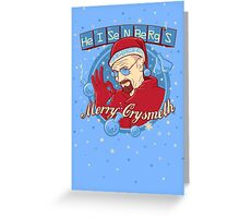 Merry CrysMeth Greeting Card