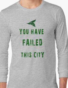 Arrow frase Long Sleeve T-Shirt