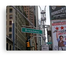 Broadway, NYC Canvas Print