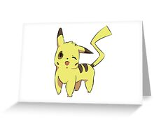 Pikachu Cell Shade Greeting Card