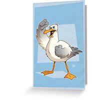 Cape Cod Seagull Greeting Card