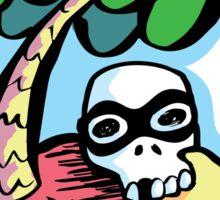 The Aquabats! Desert Island Skull! Sticker