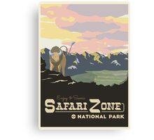 Safari Zone Canvas Print