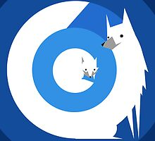 Arctic Fox by Patrick Sluiter