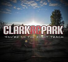 Clark RC Park Sunrise: You're on the Right Track by Annette  Clark