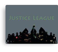 The Justice League in Young Justice Canvas Print