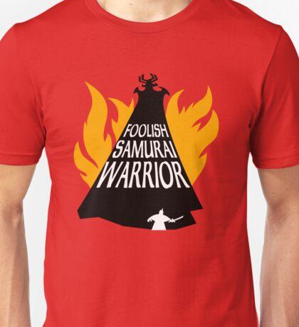 Foolish Samurai Warrior T-Shirt