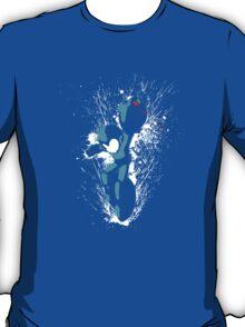 Mega Man Splattery T-Shirt T-Shirt
