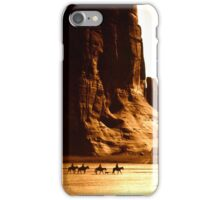 Vintage Photograph of Canyon de Chelly iPhone Case/Skin