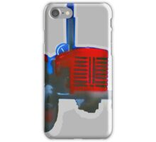 Classic Red Tractor iPhone Case/Skin