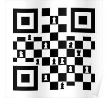 QR chess Poster