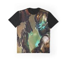 Dead Space - Isaac Clarke Concept Art Screen Graphic T-Shirt
